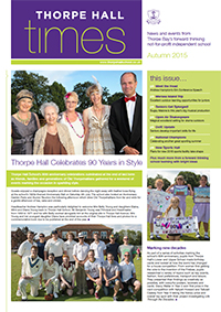 Autumn Newsletter cover